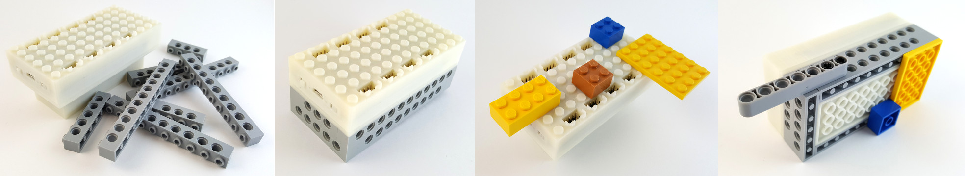 Build with LEGO bricks